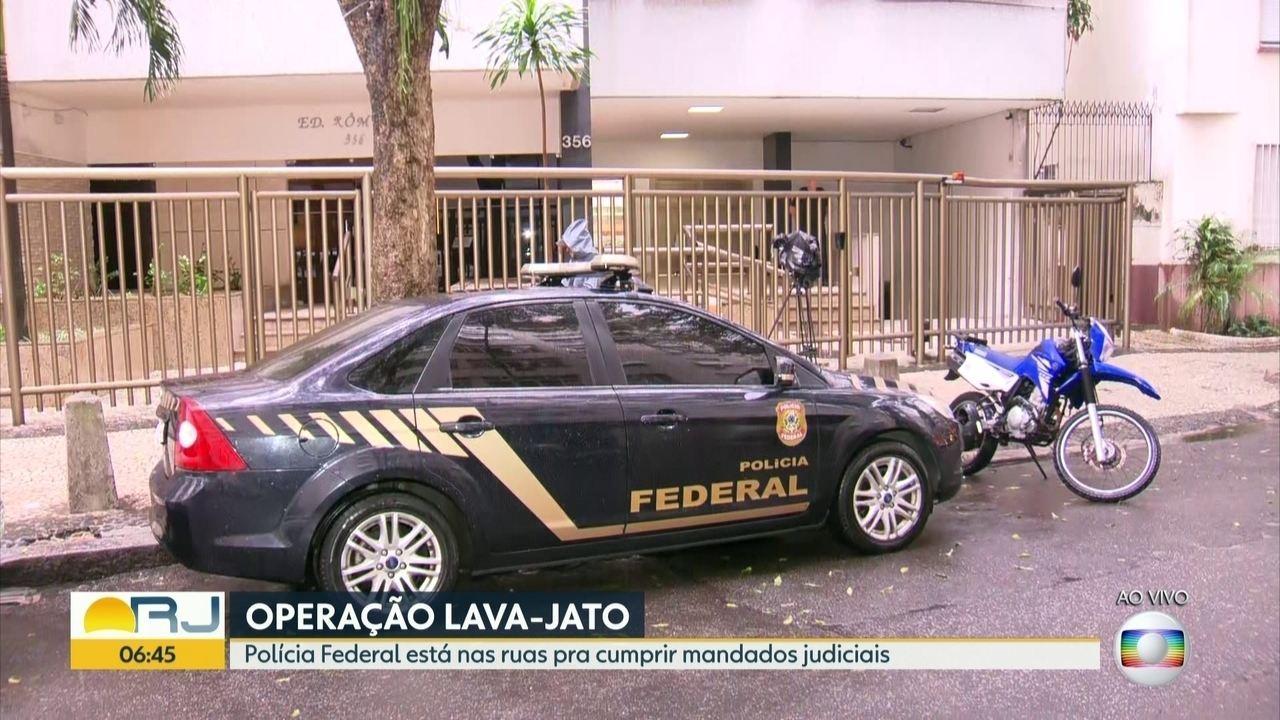 PF cumpre mandados em mais uma fase da Lava Jato no Rio