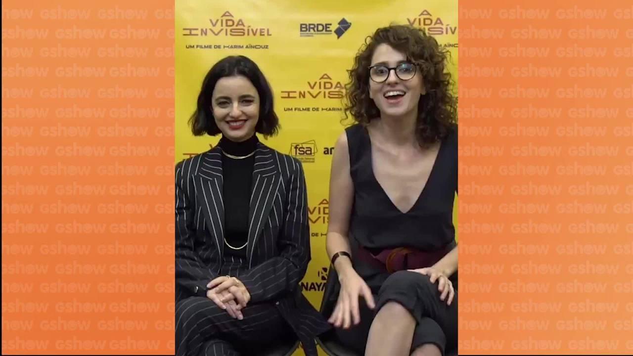 Carol Duarte e Julia Stockler falam sobre estreia de 'A Vida Invisível'