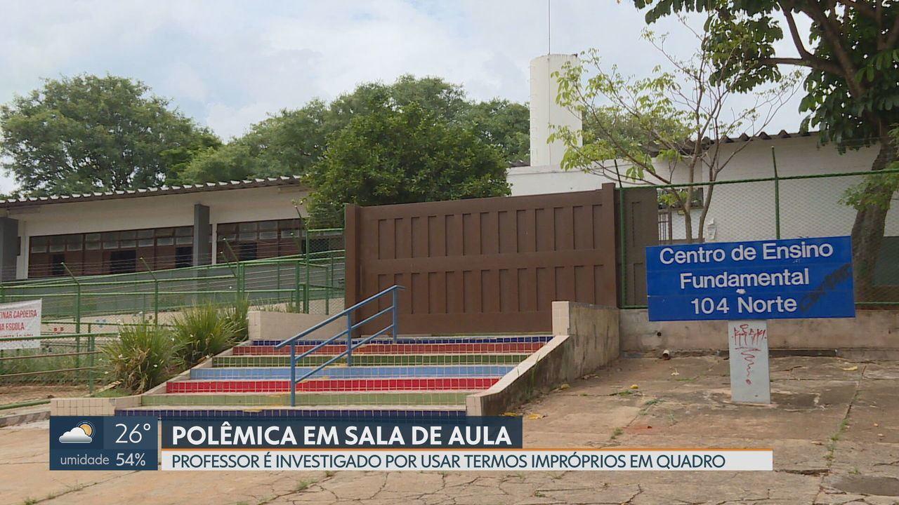 Polícia investiga professor que fez referência à sexo em sala de aula