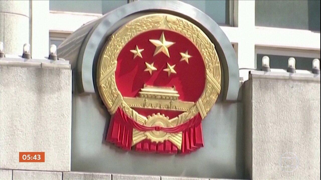 China convoca reunião após EUA aprovarem texto que apoia a democracia em Hong Kong