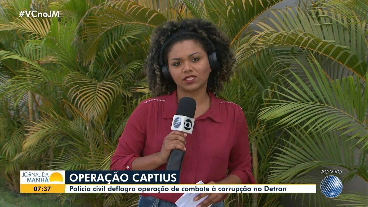 Operação combate corrupção no Detran no interior da Bahia