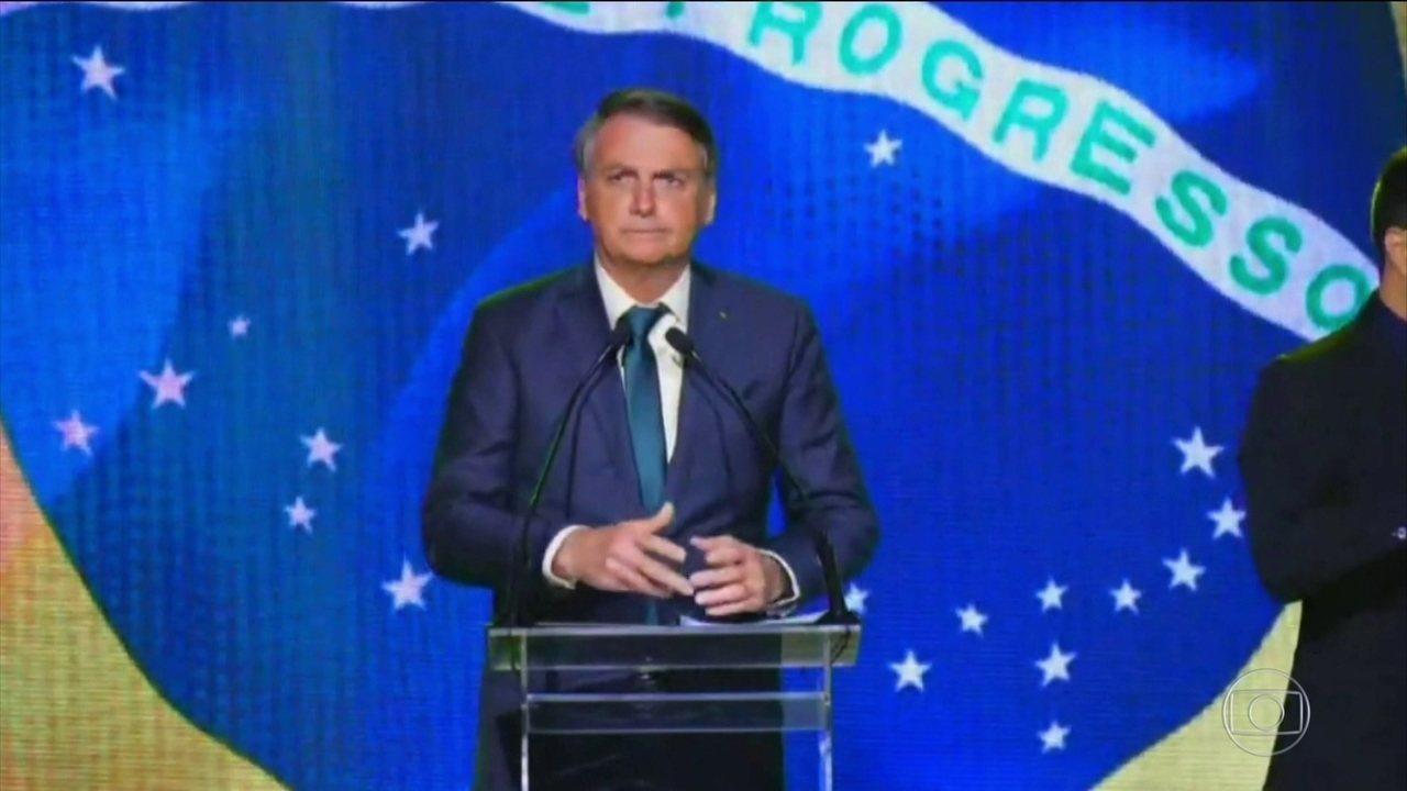 Bolsonaro participa do lançamento do partido Aliança pelo Brasil