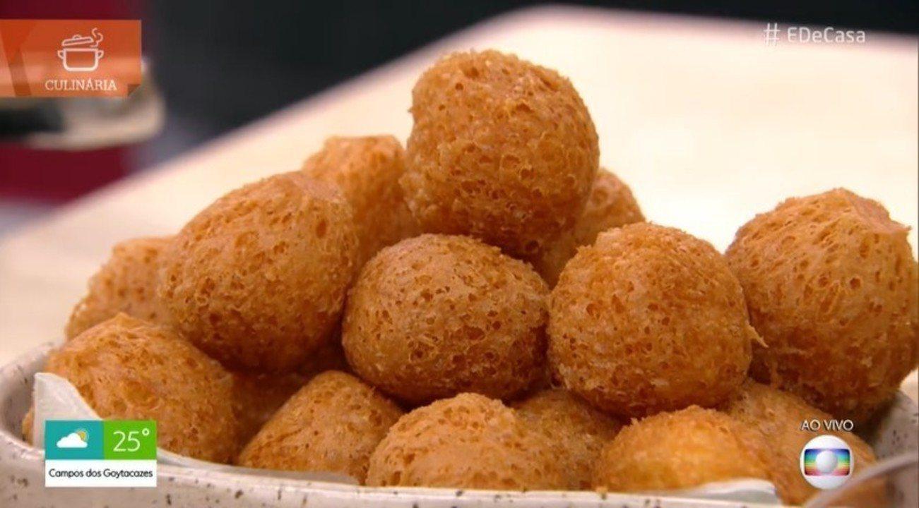 Confira a receita de Bolinha de Queijo sem farinha de trigo