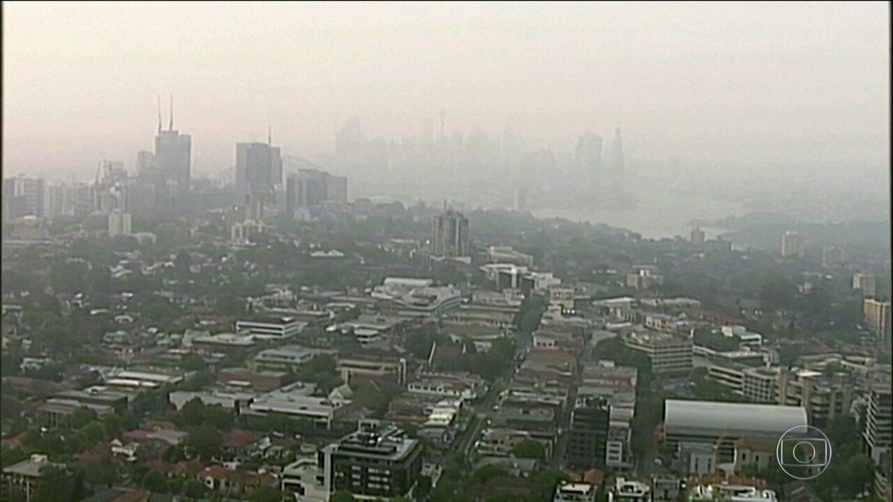 Agência da ONU anuncia recorde de concentração de gases do efeito estufa no ar