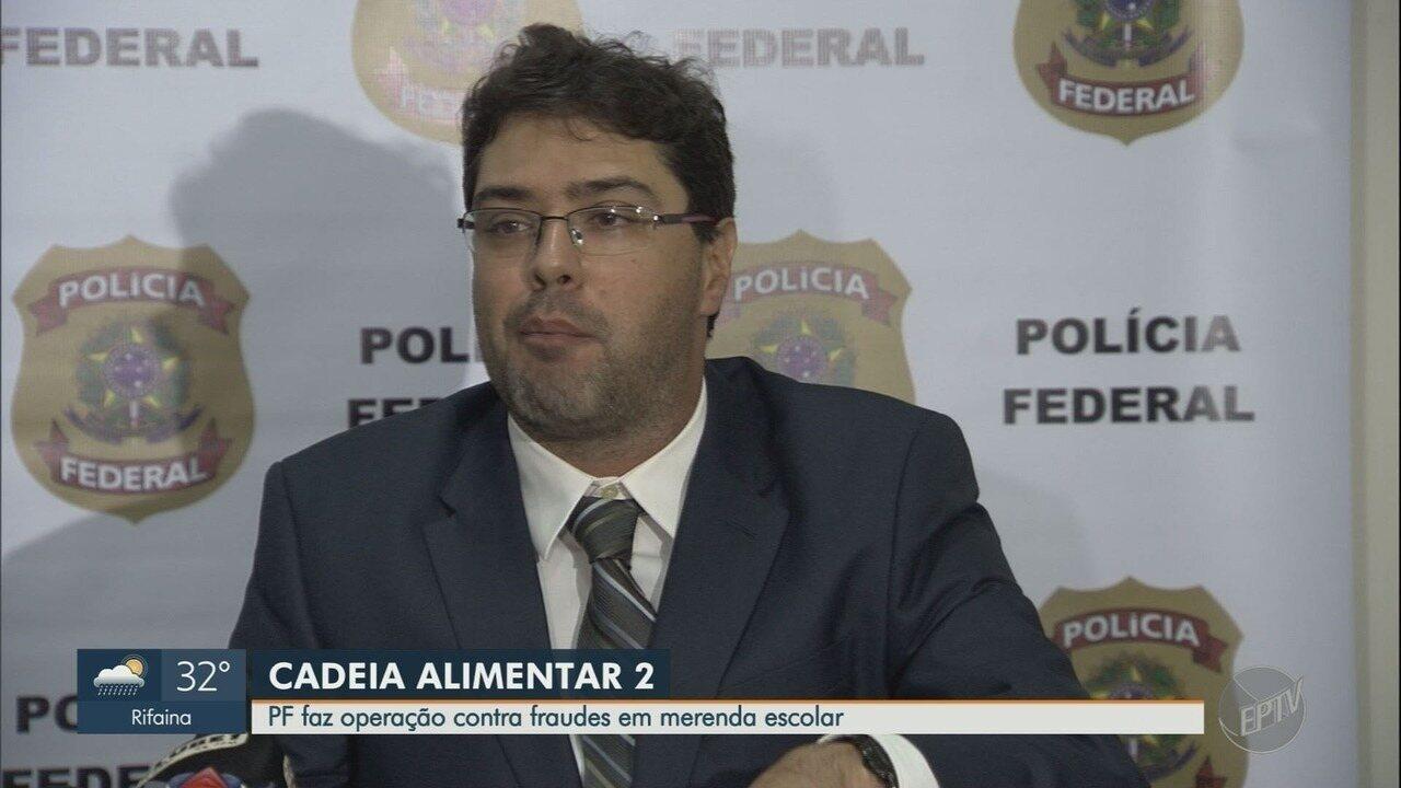 Polícia Federal faz operação contra fraude na compra de merenda em 27 cidades de SP