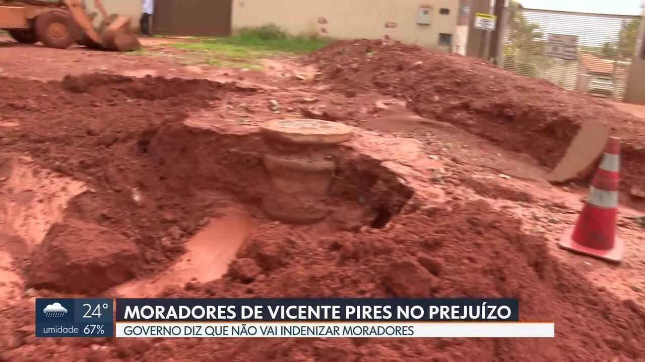 Moradores de Vicente Pires ficam no prejuízo