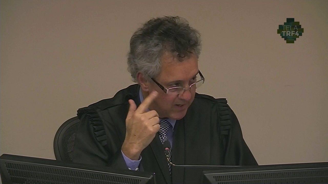 Veja a parte final do voto de Gebran Neto por aumentar a condenação de Lula