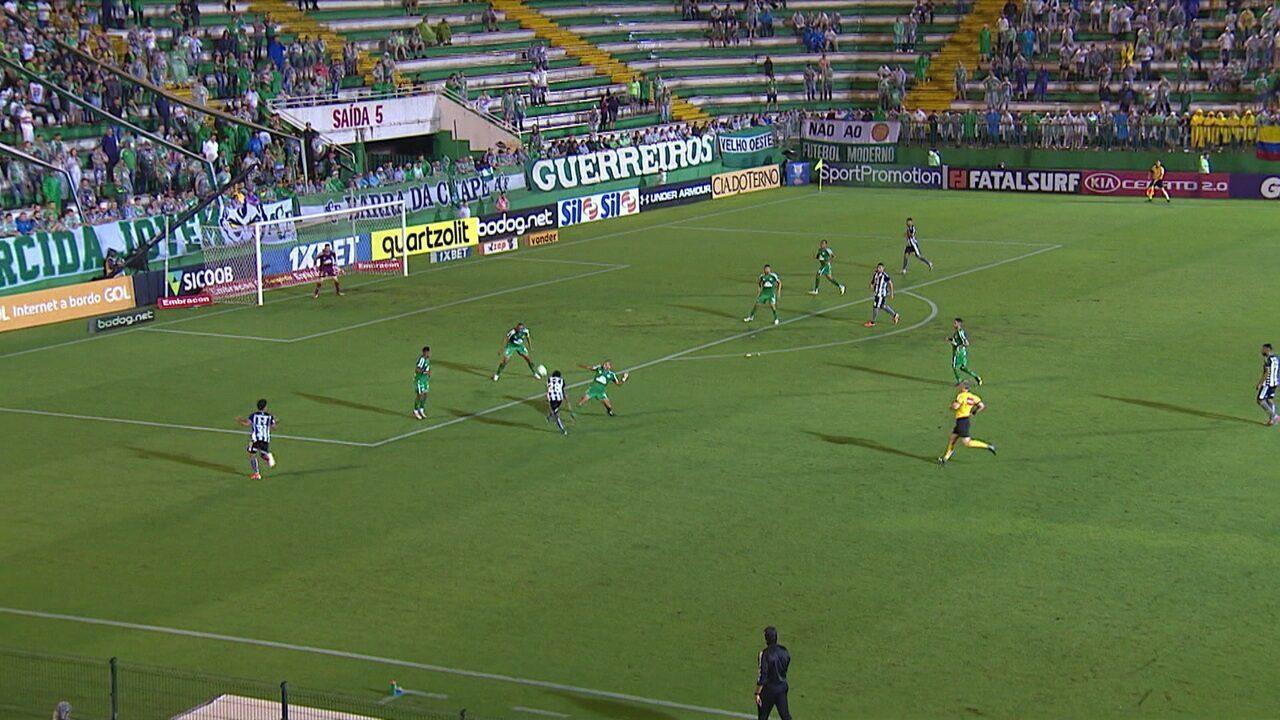 Melhores momentos de Chapecoense 0 x 1 Botafogo pela 35ª rodada do Campeonato Brasileiro