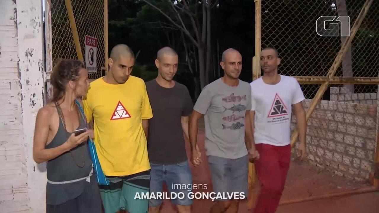 Brigadistas presos por suspeita de incêndio em Alter do Chão deixam a prisão