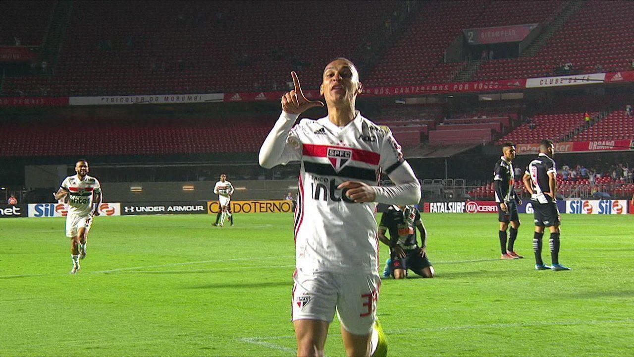 Veja o gol de Antony contra o Vasco