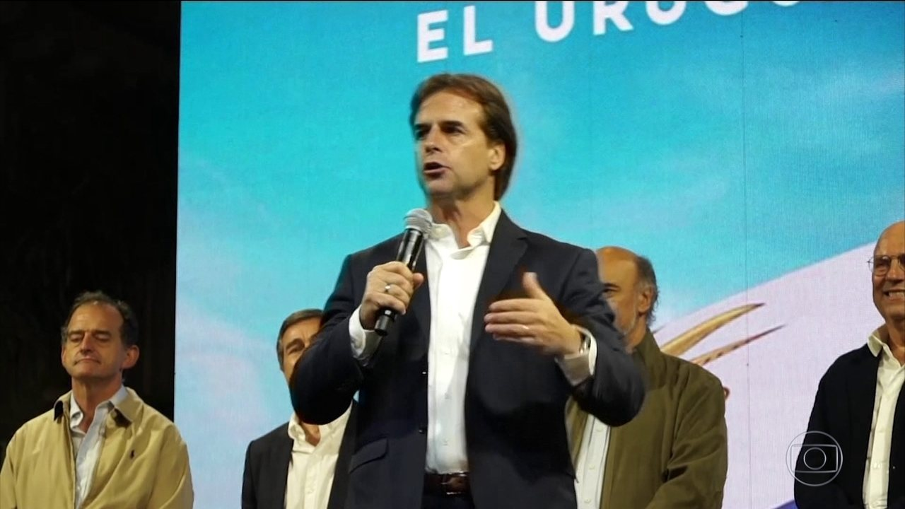 Lacalle Pou vence a eleição no Uruguai