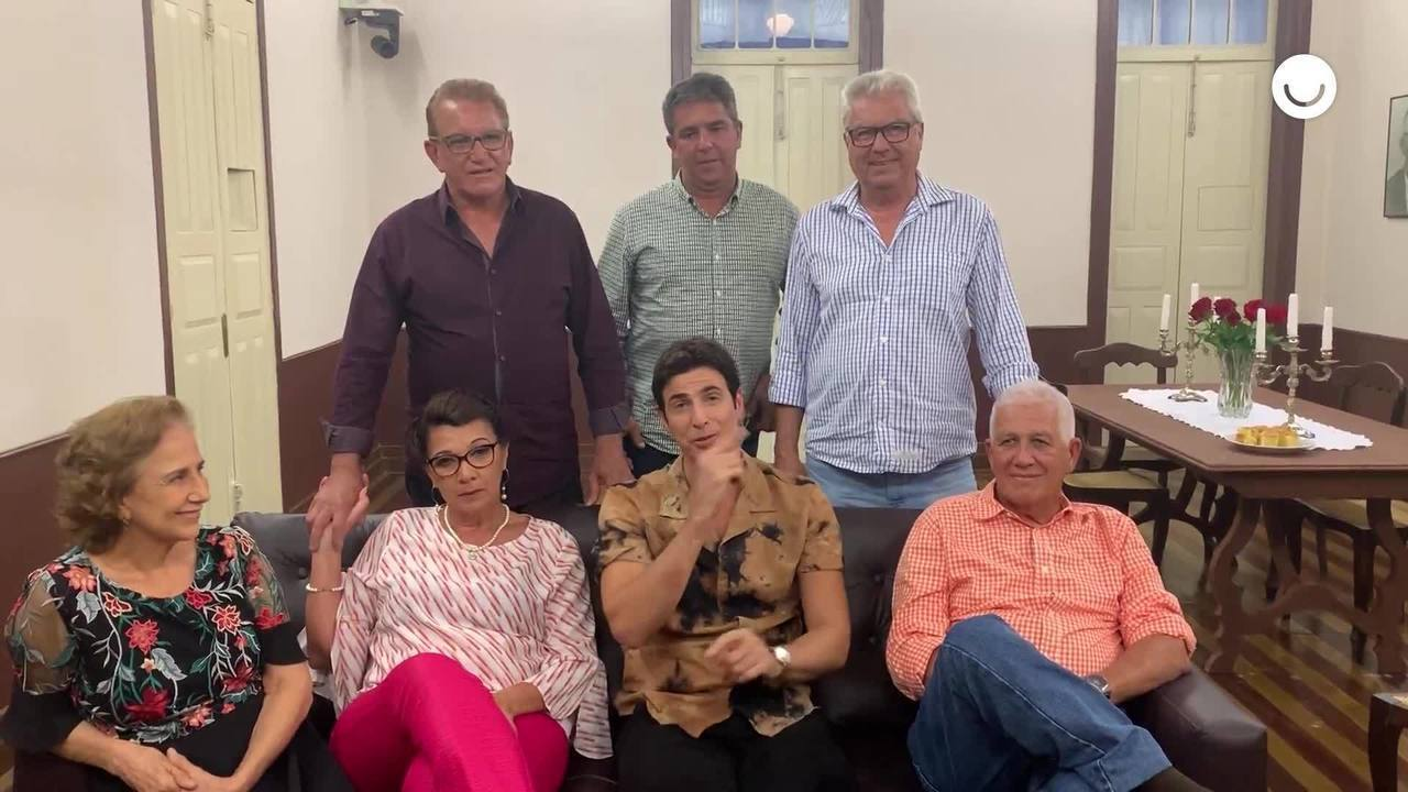 Reynaldo Gianecchini conta como foi participar do 'Visitando o Passado'