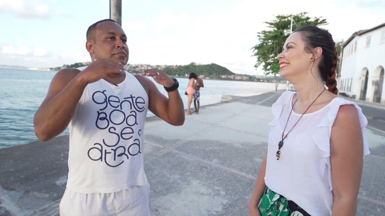 Estreia de 'Salvador em Outro Foco' mostra a relação de Fabrício Costa com o caminhar