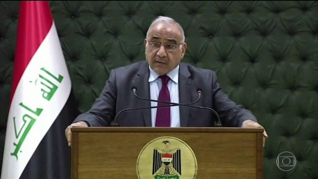 Primeiro-ministro do Iraque anuncia que vai deixar o cargo