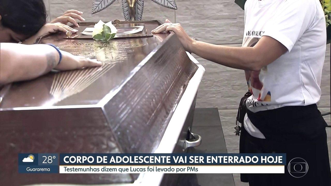 Corpo de adolescente encontrado em represa será enterrado em Santo André neste sábado (30)