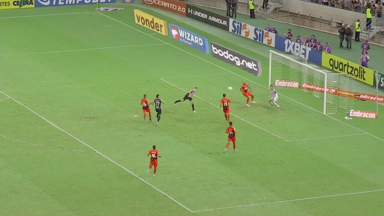 Melhores momentos: Ceará 1 x 1 Athletico-PR pela 36ª rodada do Brasileirão 2019