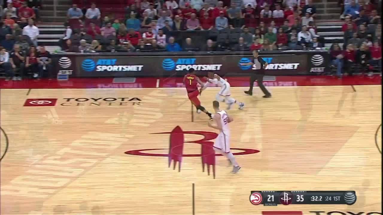 Melhores momentos: Houston Rockets 158 x 111 Atlanta Hawks