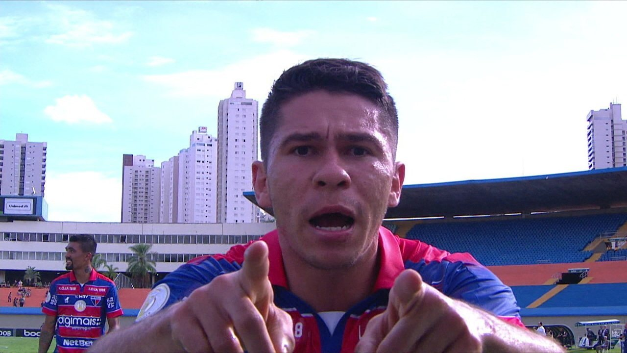 Os gols de Goiás 1 x 2 Fortaleza pela 36ª rodada do Brasileirão 2019