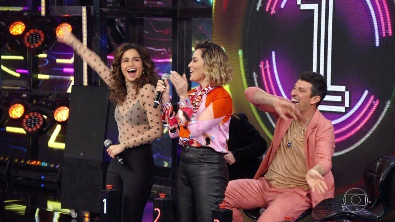 Nanda Costa e Letícia Lima acertam a terceira rodada