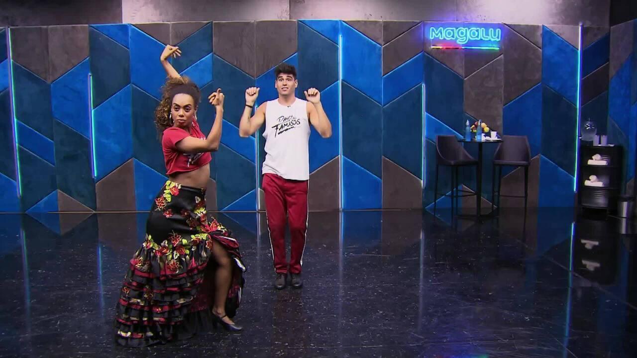 Veja os ensaios de Dandara Mariana para o paso doble no 'Dança dos Famosos'