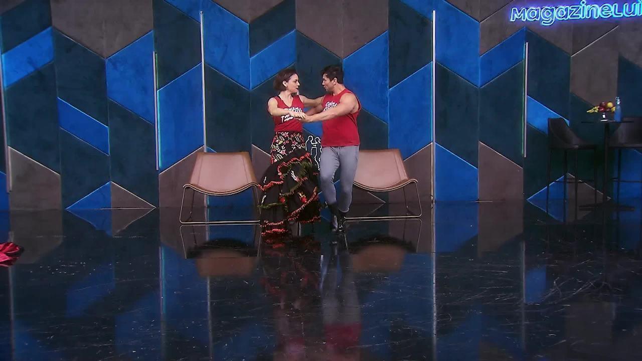 Veja os ensaios de Regiane Alves para o paso doble no 'Dança dos Famosos'