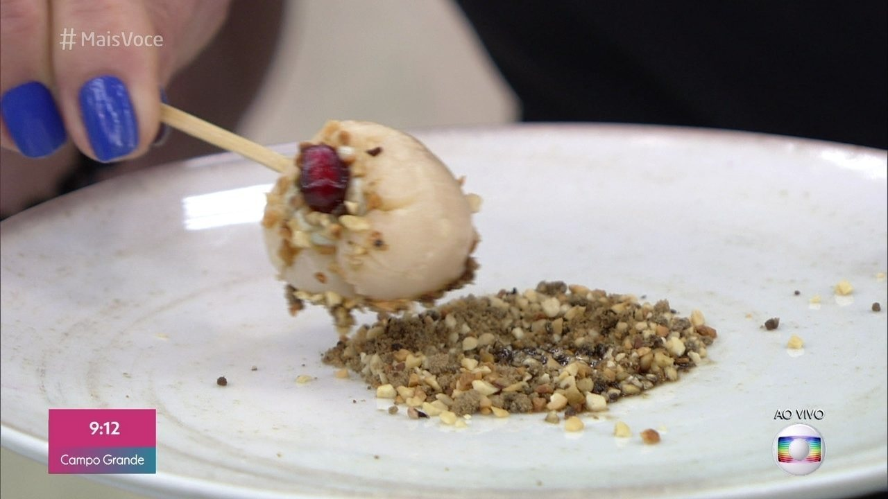 Lichia com Musse de Gorgonzola