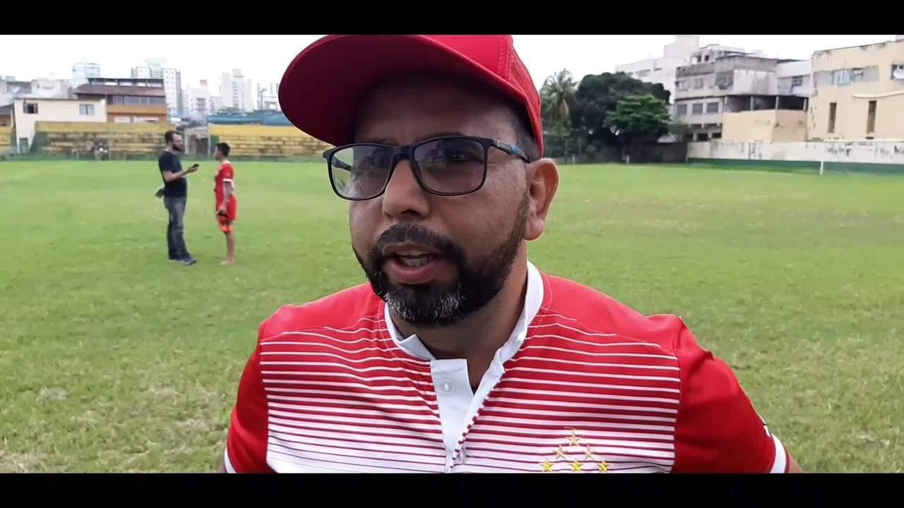 Luciano Tadino fala da vitória do Vila Nova-ES no jogo de ida das finais