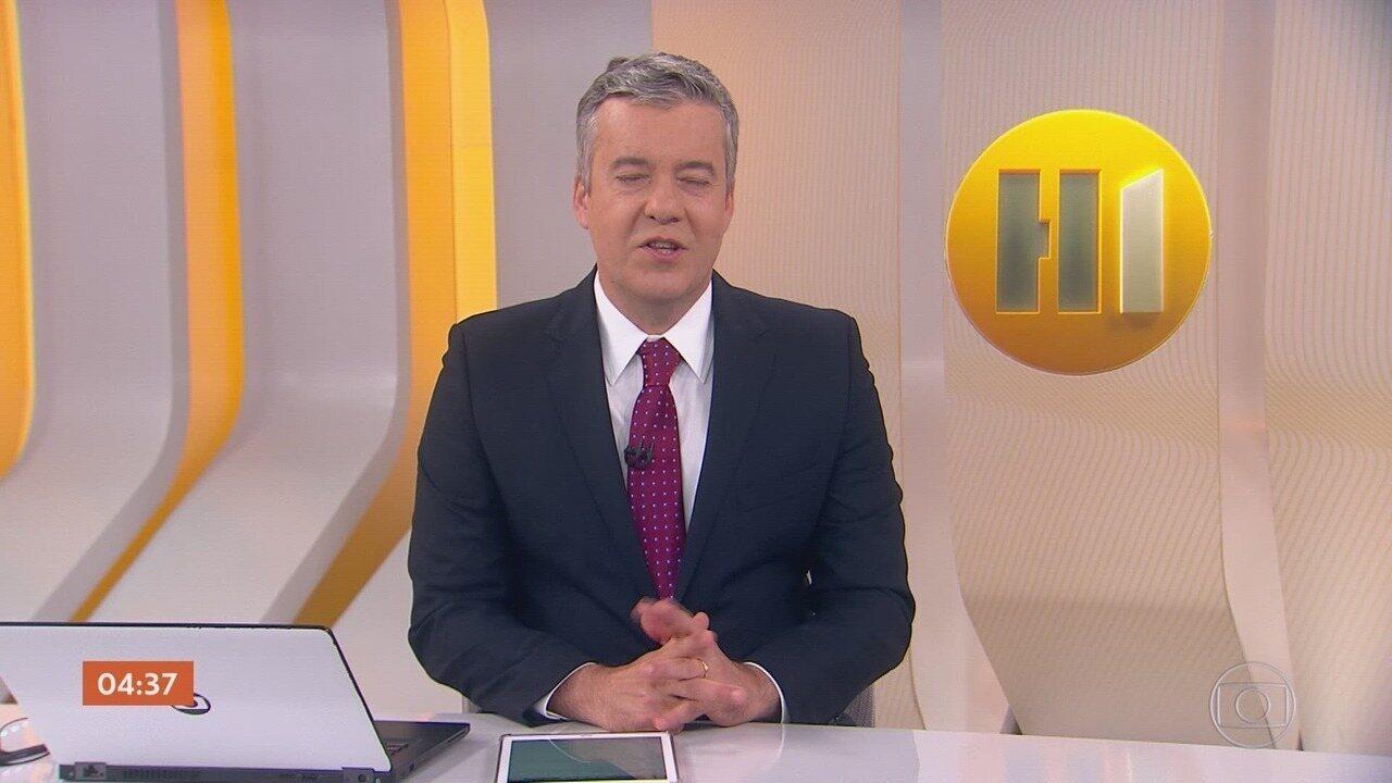 Hora 1 - Edição de terça-feira, 03/12/2019 - Os assuntos mais importantes do Brasil e do mundo, com apresentação de Roberto Kovalick.