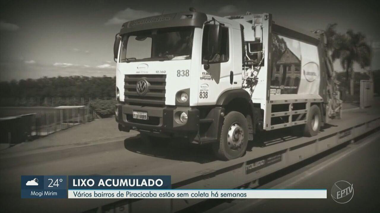 Moradores reclamam de falhas na coleta de lixo em Piracicaba