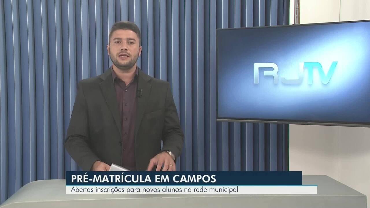 Inscrições para novos alunos estão abertas na rede municipal de Campos