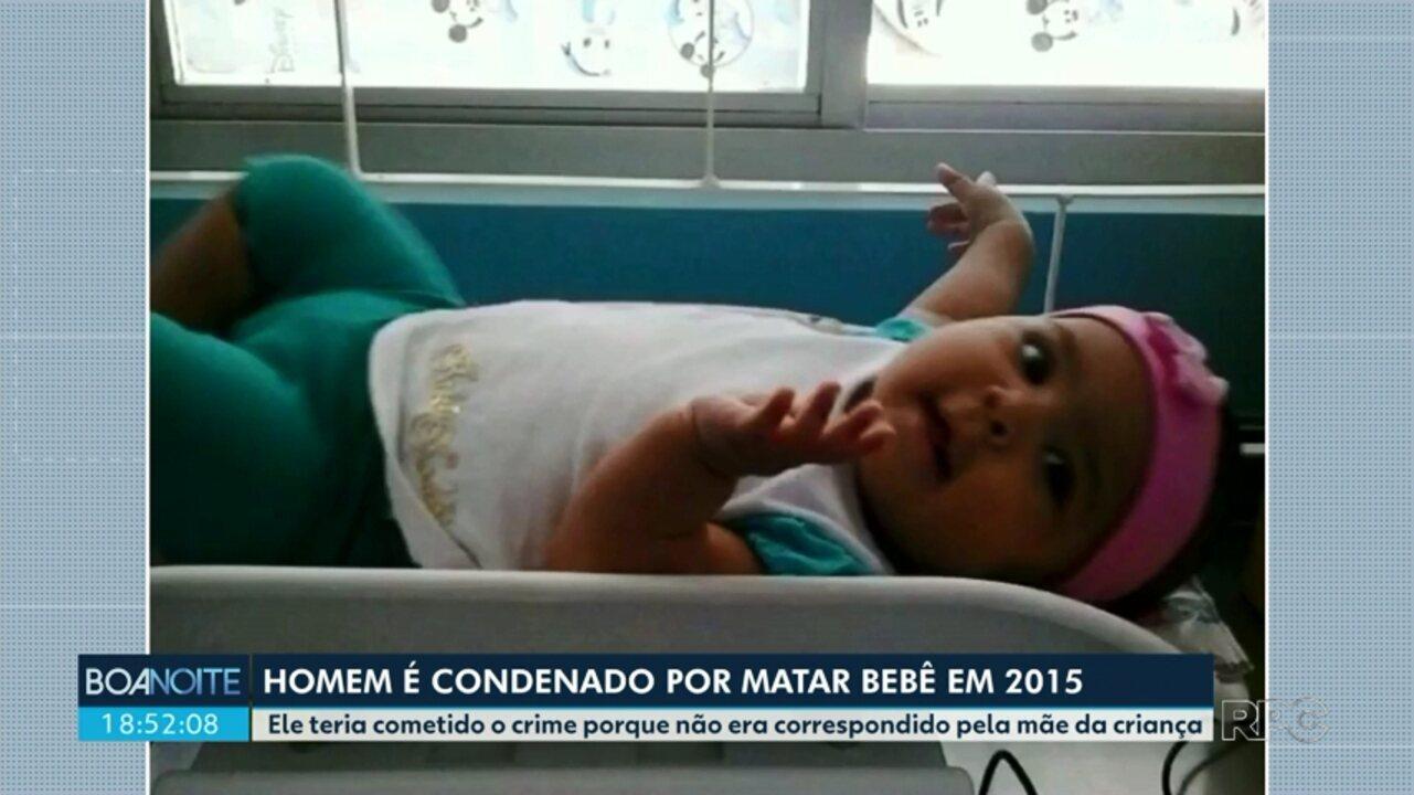 Homem é condenado por matar bebê em 2015
