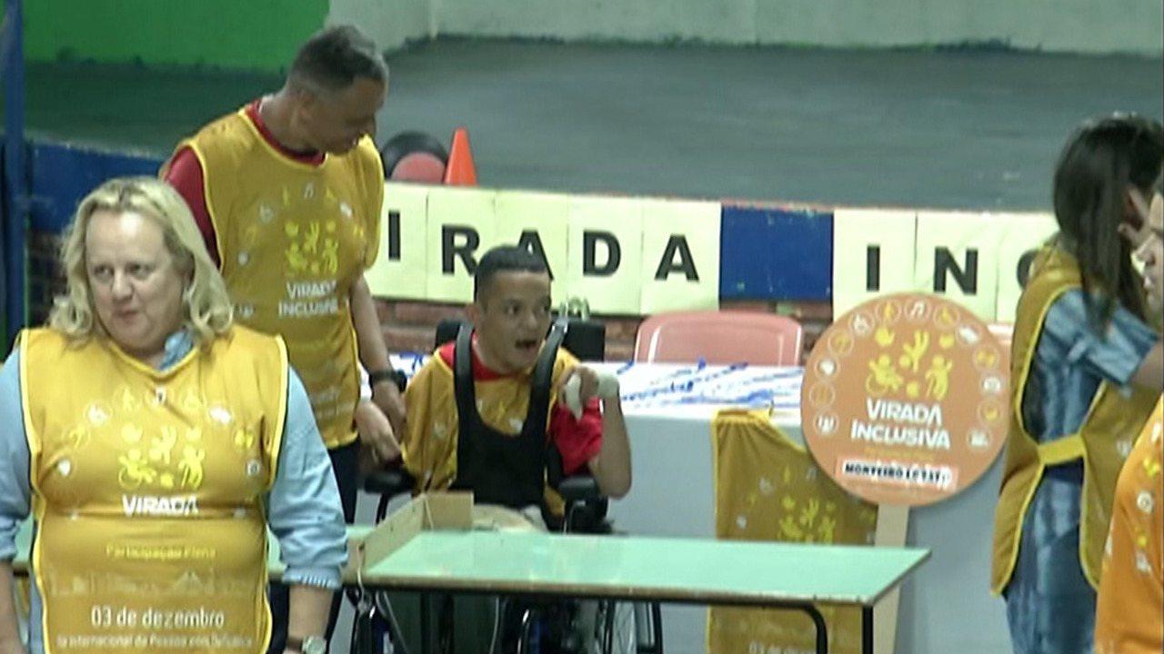 'Virada Inclusiva' leva cinema e atividades esportivas para escolas de Ferraz