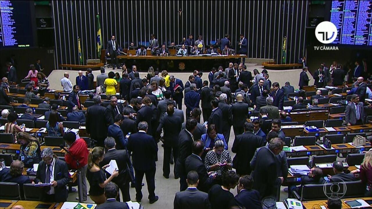 Câmara dos Deputados aprova parte do pacote anticrime do ministro Sérgio Moro