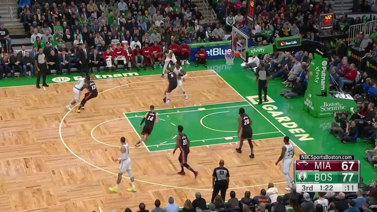 Melhores momentos: Boston Celtics 112 x 93 Miami Heat pela NBA