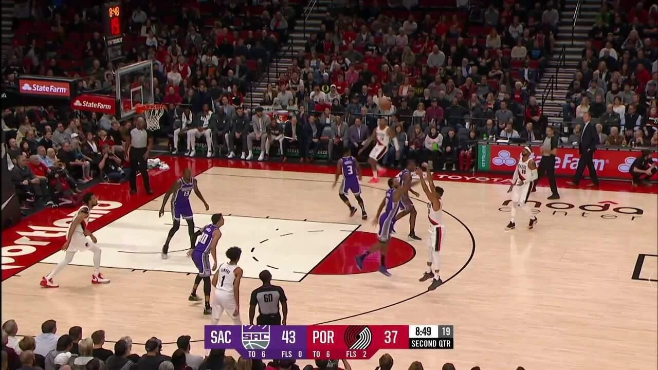 Melhores momentos: Portland Trail Blazers 127 x 116 Sacramento Kings pela NBA