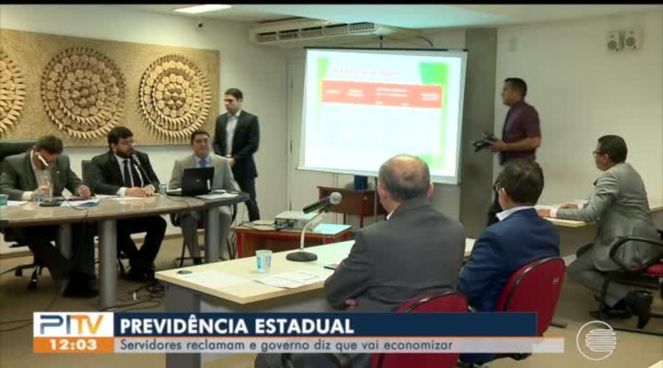 Servidores reclamam da reforma da previdência estadual e governo diz que vai economizar