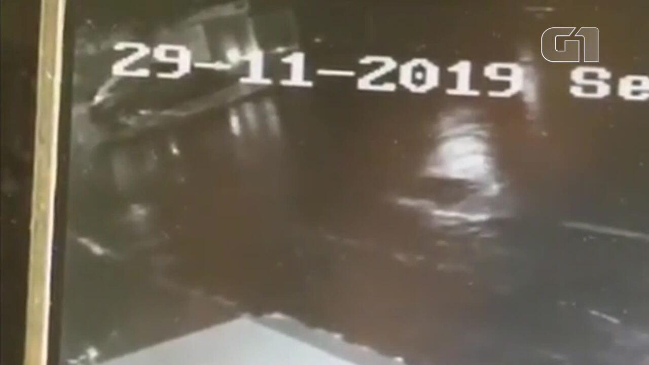 Câmeras de segurança registraram Paulo Roberto Osório saindo de casa na Asa Sul