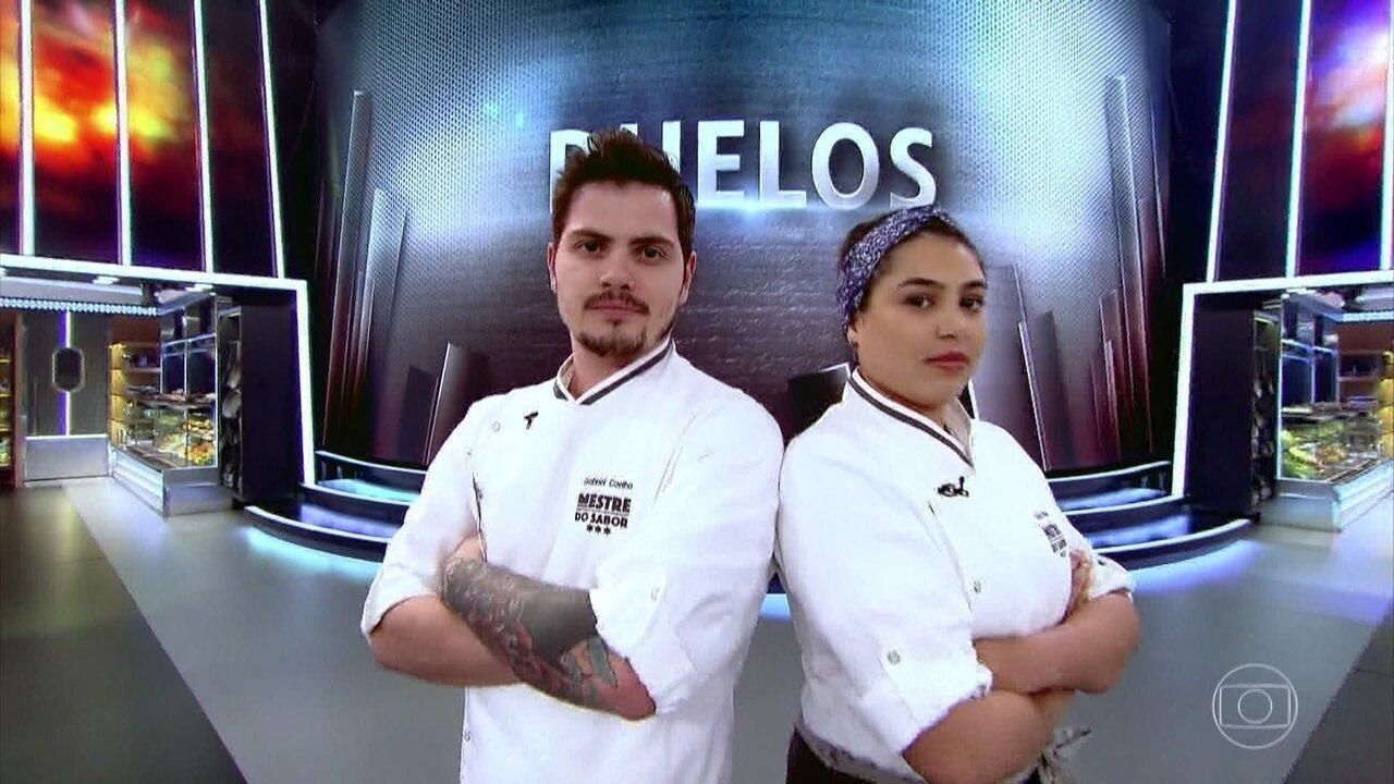 Gabriel Coelho e Raissa Ribeiro são sorteados para Duelo