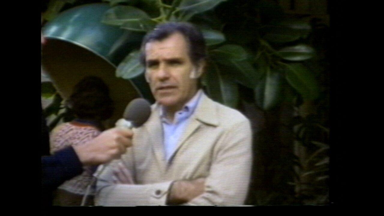 Em 1978, Evaristo de Macedo fala sobre desfalques para jogo contra o Inter