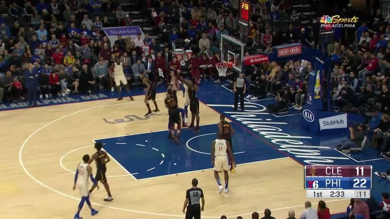 Melhores momentos: Philadelphia 76ers 141 x 94 Cleveland Cavaliers, pela NBA
