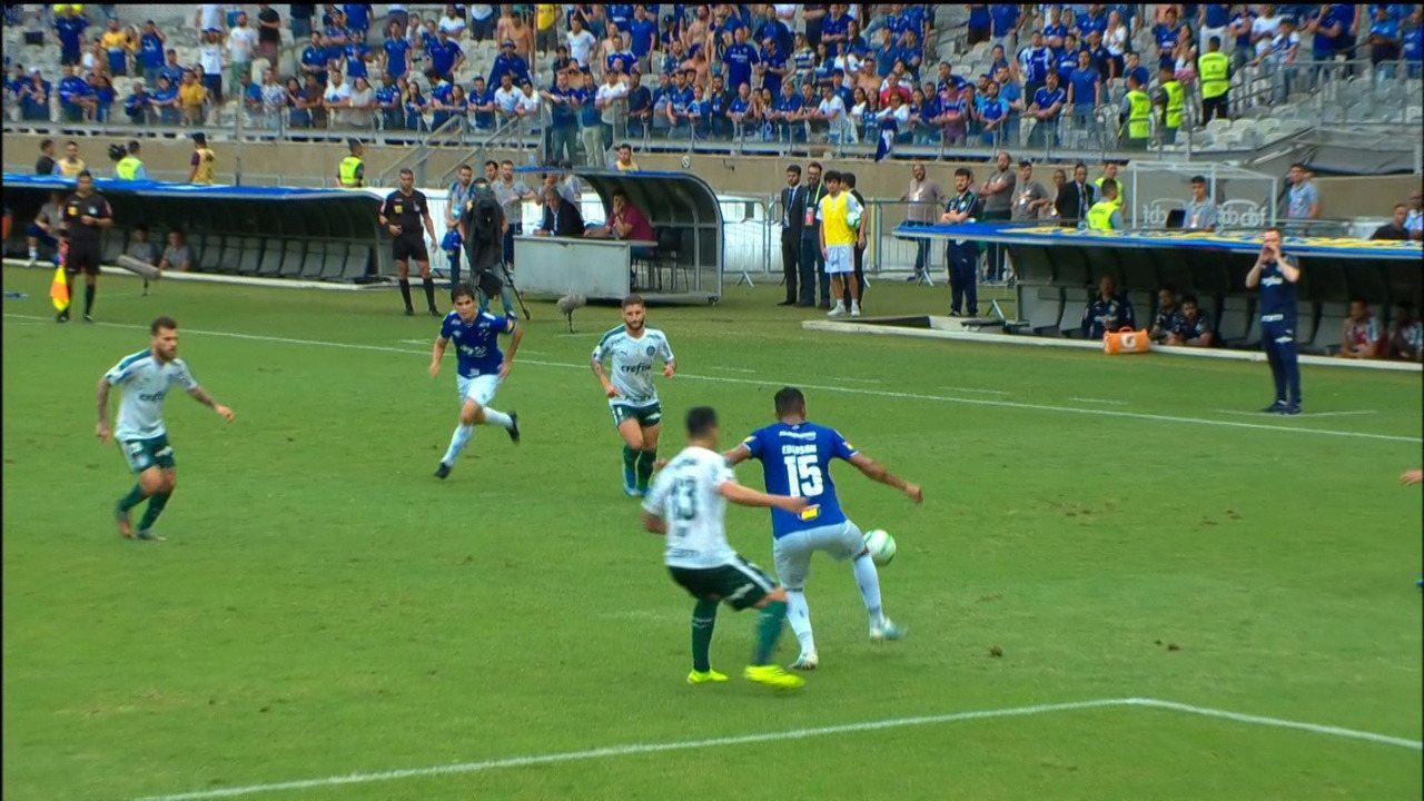 Best moments: Cruzeiro 0 x 2 Palmeiras for the 38th round of the Brasileirão