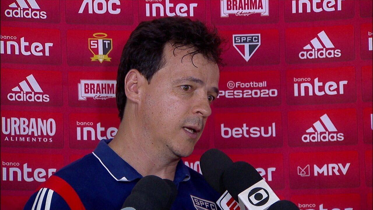 Veja coletiva do Fernando Diniz após vitória do São Paulo sobre o CSA pelo Brasileirão
