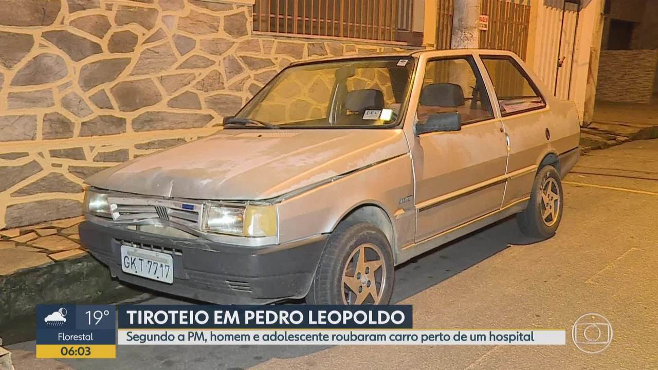 Homem fica ferido em tiroteio em Pedro Leopoldo, na Grande BH