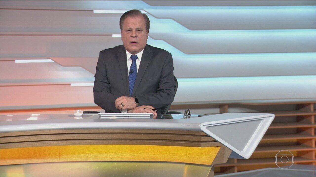 Bom dia Brasil - Edição de terça-feira, 10/12/2019 - O telejornal, com apresentação de Chico Pinheiro e Ana Paula Araújo, exibe as primeiras notícias do dia no Brasil e no mundo e repercute os fatos mais relevantes.
