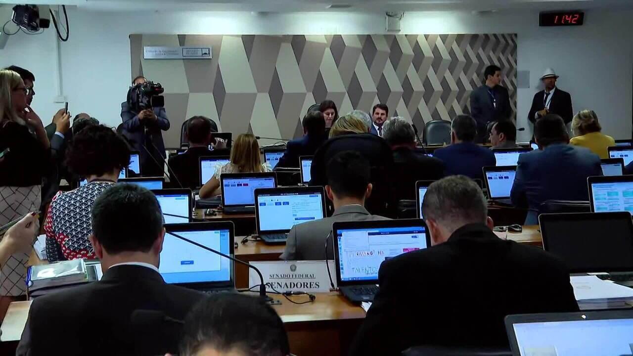 CCJ do Senado aprova pacote anticrime e projeto sobre prisão em 2ª instância