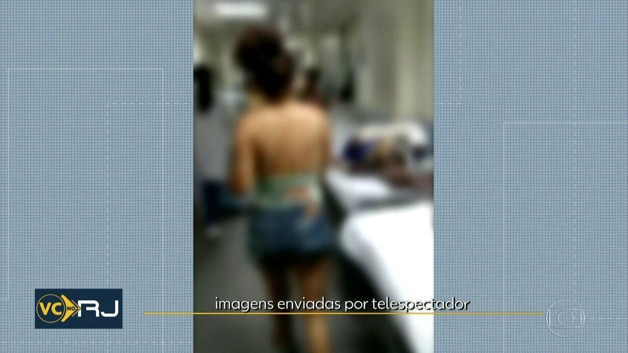 Hospital Salgado Filho tem superlotação