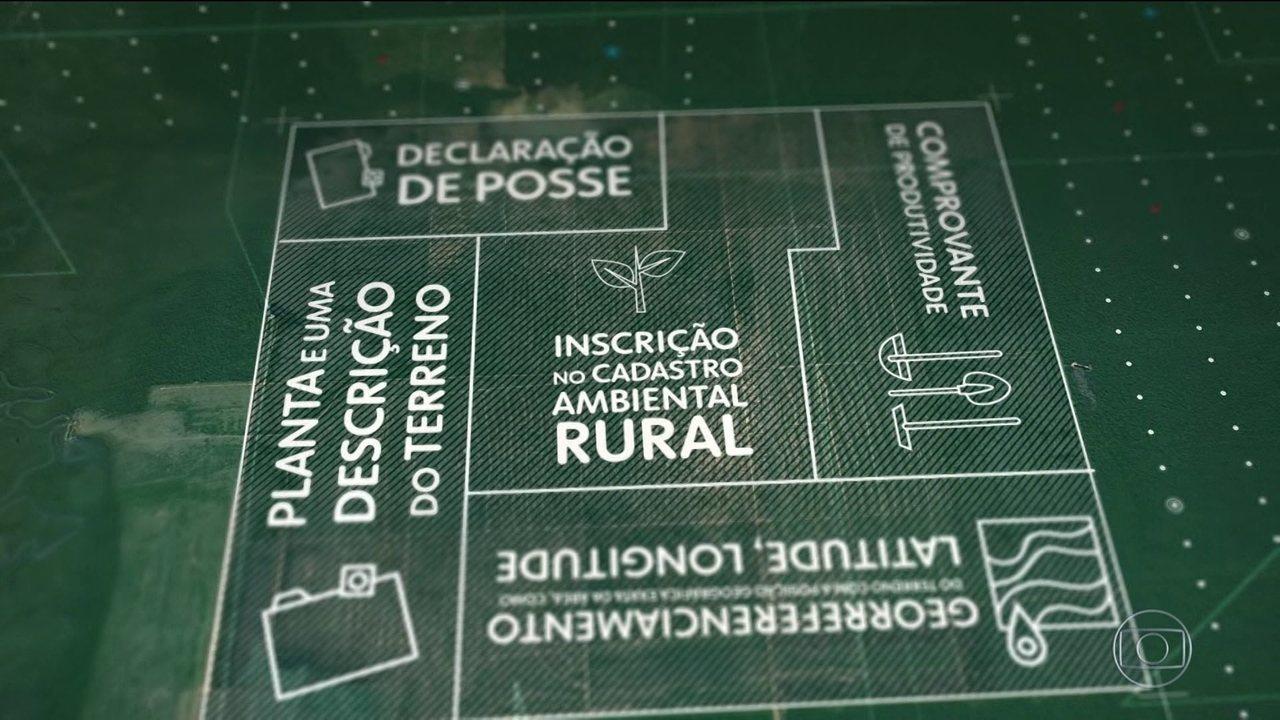 Especialistas criticam MP do governo que regulariza propriedades rurais