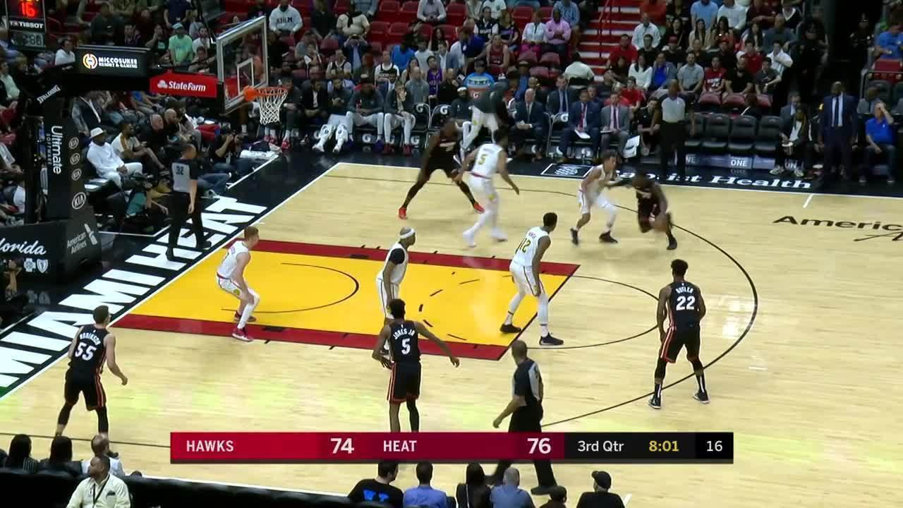 Melhores momentos: Miami Heat 135 x 121 Atlanta Hawks, pela NBA