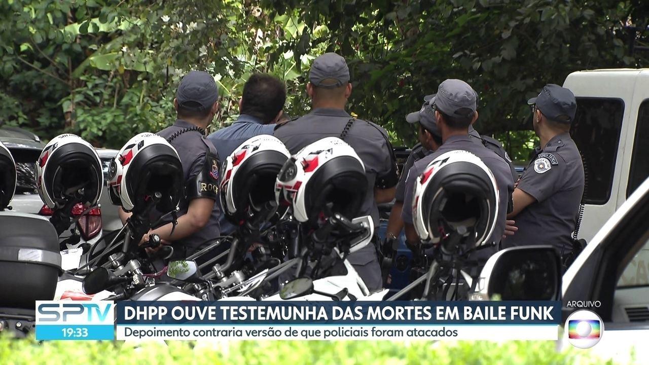 DHPP ouve testemunhas das mortes no baile funk em Paraisópolis
