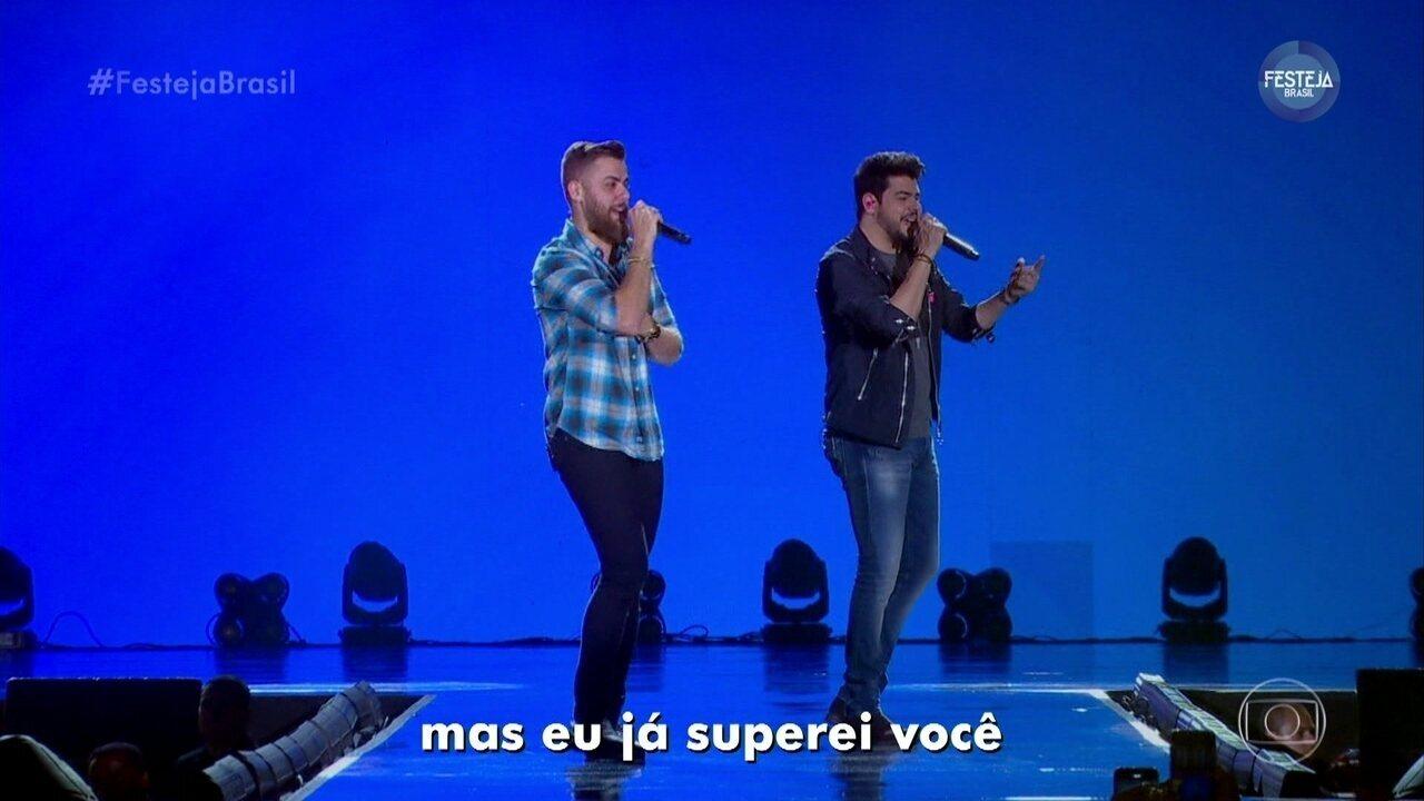 """Zé Neto e Cristiano cantam """"Notificação Preferida"""""""